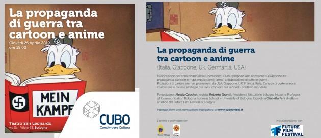 Propaganda guerra cartoon e anime